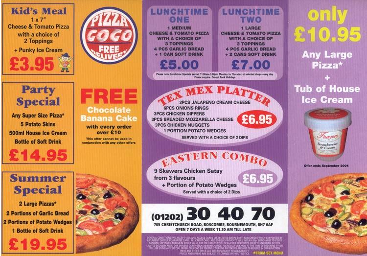 Pizza Gogo Boscombe Dorset